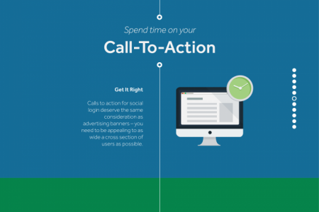 10 Brilliant Ways To Encourage Social Login Infographic