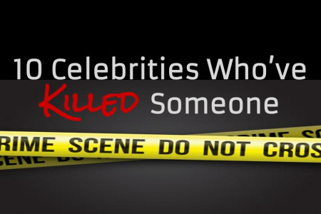 10 Celebrities Who've Killed Someone Infographic