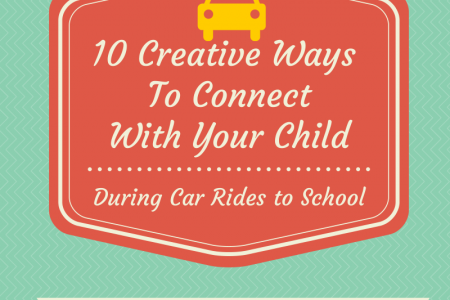 10 Creative Ways to Connect With Your Child During Car Rides to School Infographic