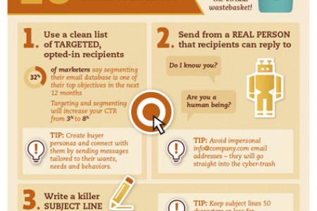 10 Easy Ways to Improve Your Email Open Rates Infographic