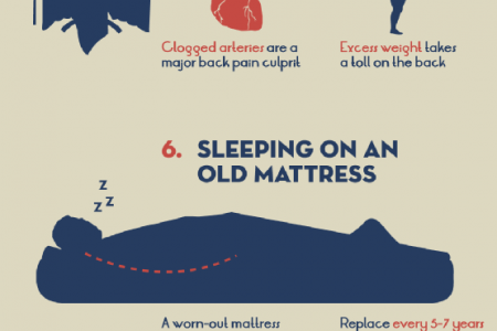 10 Habits That Are Hurting Your Back Infographic