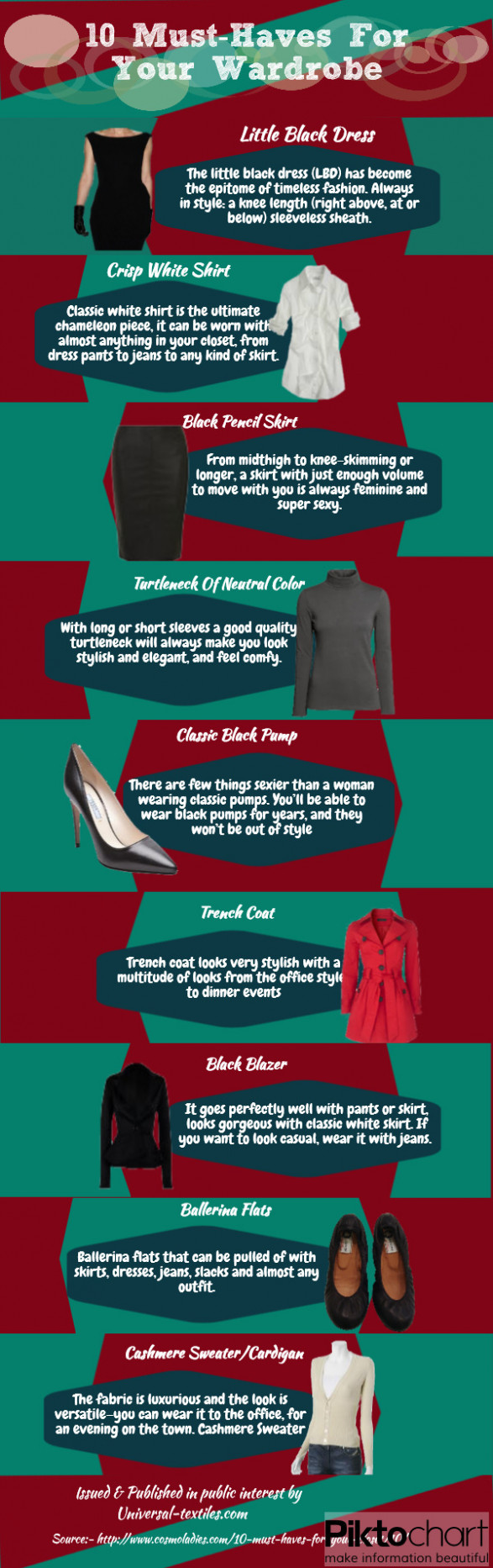 10 Must Have For Your Wardrobe