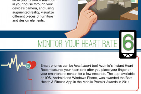10 of the Smartest Things You Can Do With Your Smartphone Infographic