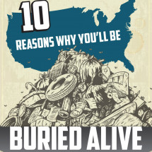 10 Reasons Why You'll be Buried Alive Infographic