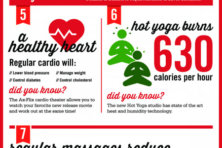 10 Steps to a Healthy Body Infographic