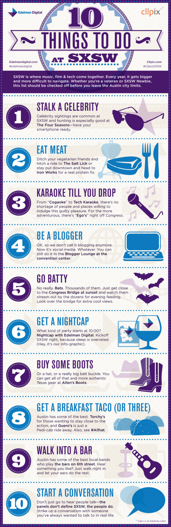 10 Things To Do at SXSW
