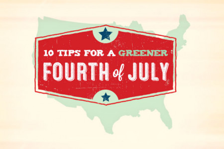 10 Tips for a Greener 4th of July Infographic