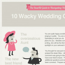 10 Wacky Wedding Characters Infographic