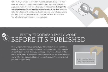 10 Ways To Get More Eyeballs On Your Posts Infographic