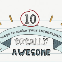 10 Ways to Make Your Infographic Totally Awesome  Infographic