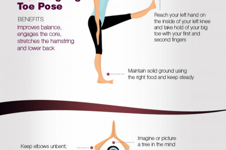 10 Yoga Asanas to jumpstart your day Infographic
