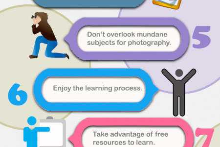 11 Tips for Beginner Photographers Infographic
