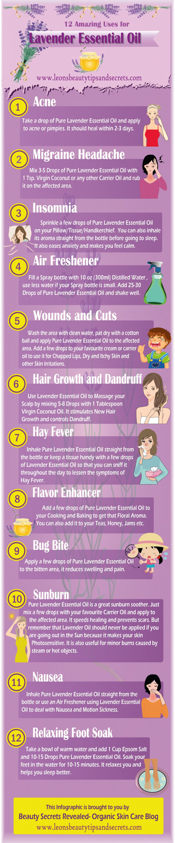 The Healing Power of Lavender Oil: 12 DIY Natural Health & Beauty Recipes