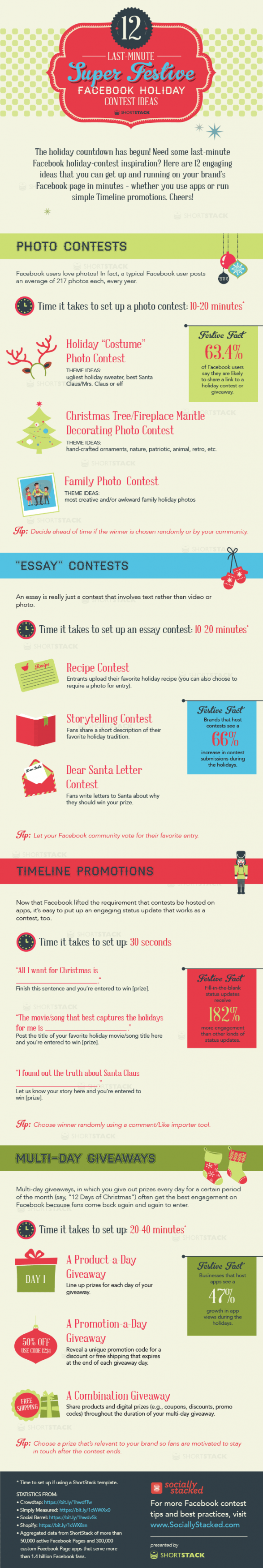 12 Last Minute Facebook Holiday Contest Ideas