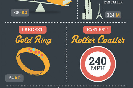 13 Dubai World Records Infographic