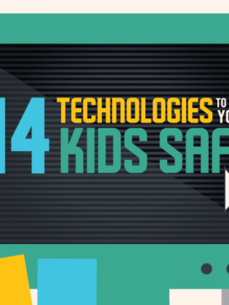 14 Technologies To Keep Your Kids Safe [Infographic] Infographic