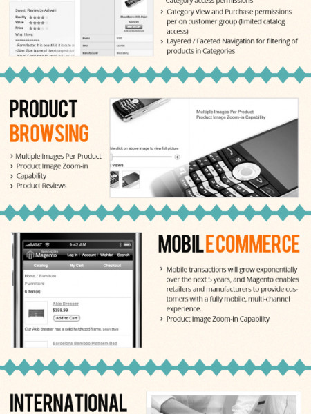15 Highly Effective Features of Magento Platform For Business Growth  Infographic