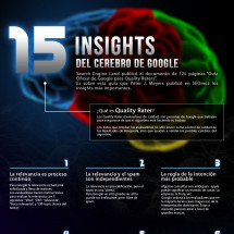 15 Insights from Google's brain  Infographic