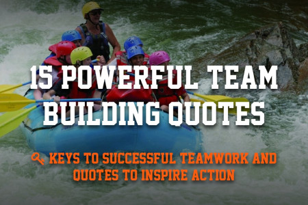 15 Powerful Team Building Quotes to Inspire Successful Teamwork Infographic
