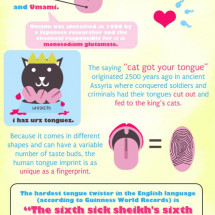 15 Things You Didn't Know About Your Tongue Infographic