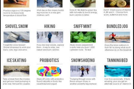 15 Ways to Stay Fit this Winter Infographic