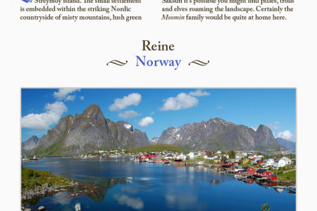 16 Unbelievable Fairytale Locations You Can Actually Visit Infographic