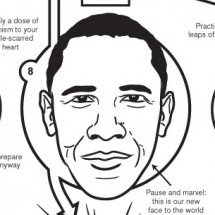 2008 Obama Victory How-To  Infographic