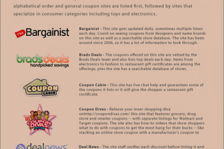 2011 Online Shopping Guide and Safety Tips Infographic