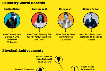 2011 World Record Visualized Infographic