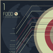 2012 food network Infographic