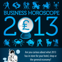 2013 Business Horoscope Infographic