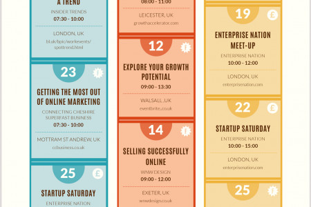 2014 Small Business Calendar Infographic Infographic