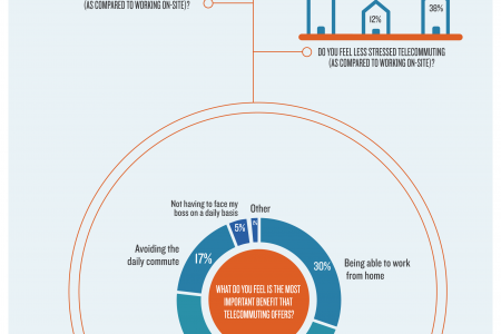 2014 Telecommuting Statistics Infographic