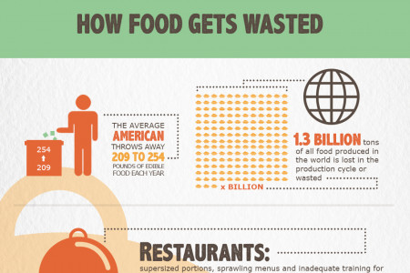21 Shocking U.S. Food Waste Facts & Statistics Infographic