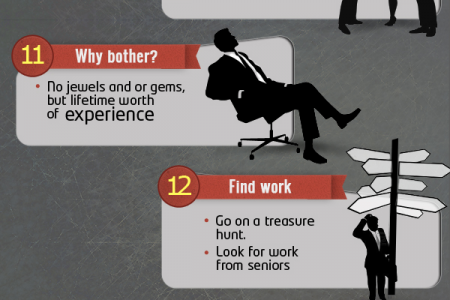 22 things to do during your internship program Infographic