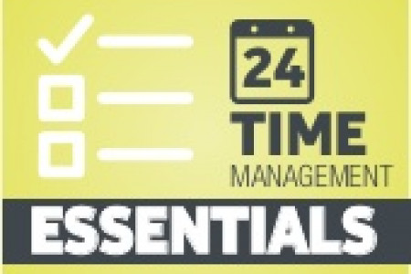 24 Time Management Essentials Infographic