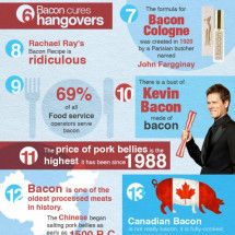 25 Fun Facts About Bacon Infographic