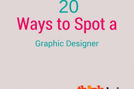 25 Ways to Spot a Graphic Designer Infographic