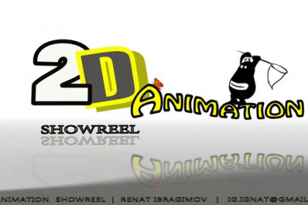 2D animation show reel Infographic