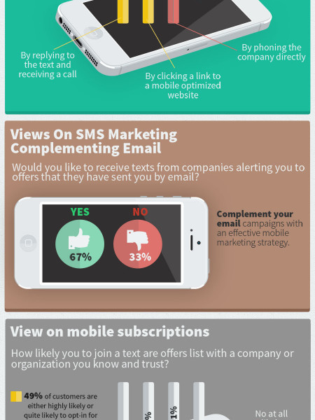What Exactly are Consumers' Perpectives Towards SMS Marketing Campaigns? Infographic