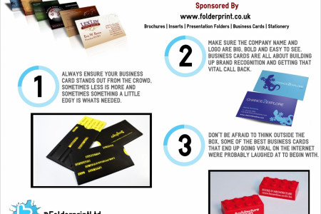3 Tips To Consider When Designing Your Business Card Infographic