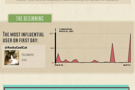 30 Day History of the #SMMOC Hashtag – Infographic Infographic