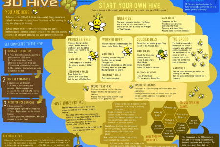 3D Hive Infographic