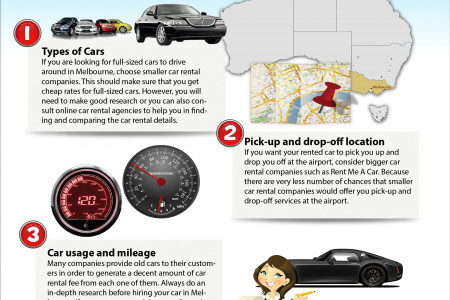 4 Tips on Choosing the Best Car Rental in Melbourne Infographic