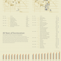 40 Years of Excrescence Infographic