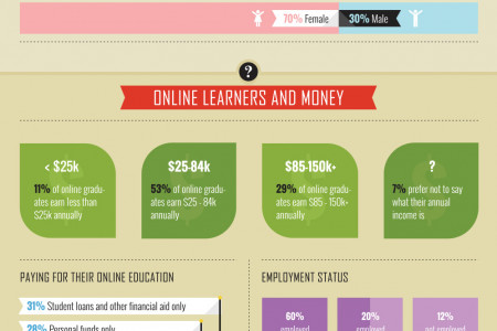 41 Surprising Facts About Online Students Infographic