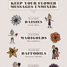 411 on Flower Etiquette  Infographic