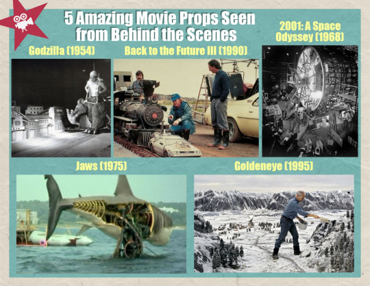 5 Amazing Movie Props Seen from Behind the Scenes