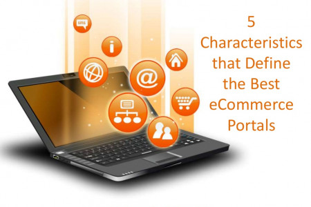 5 Characteristics that Define the Best eCommerce Portal Infographic