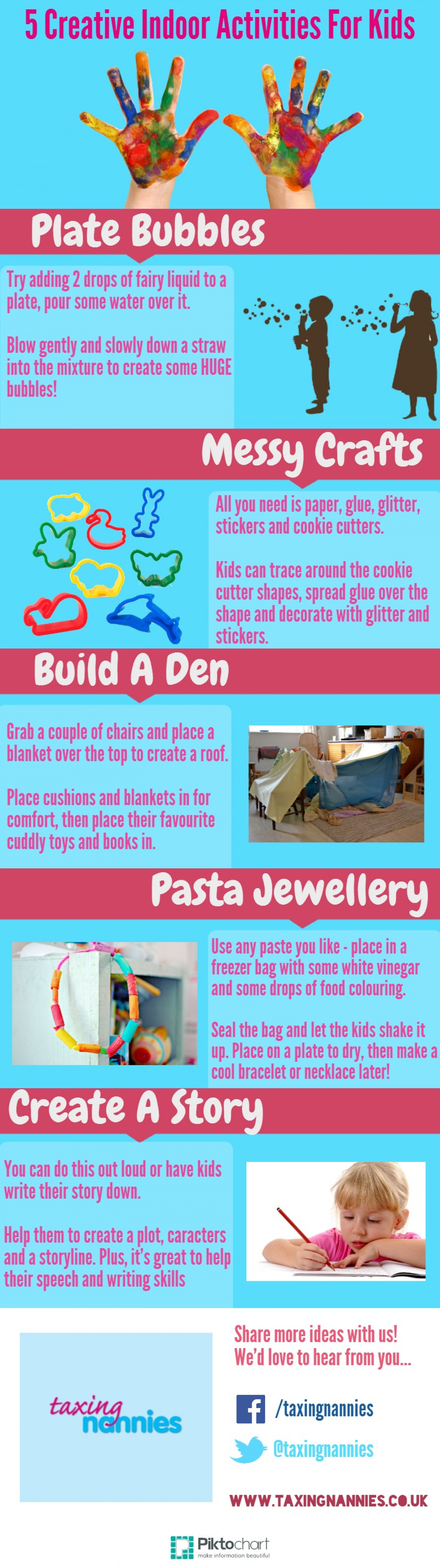 5 creative indoor activities for kids 53343052e6403 w1500 5 Creative Indoor Activities For Kids